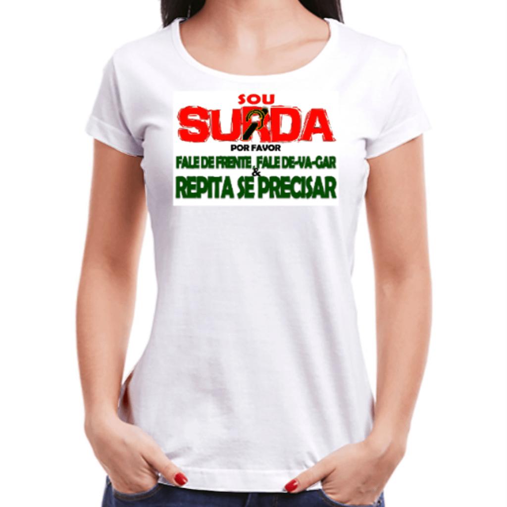 Surda Informativa (Camiseta Branca)