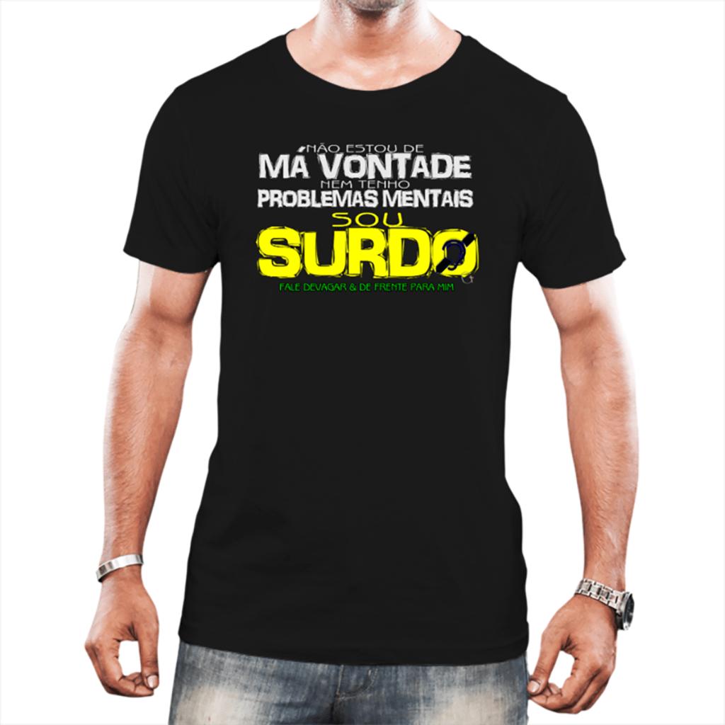 Surdo de Impacto (Camiseta Preta)