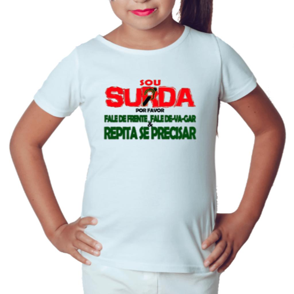 Menina Informativa (Camiseta Branca)