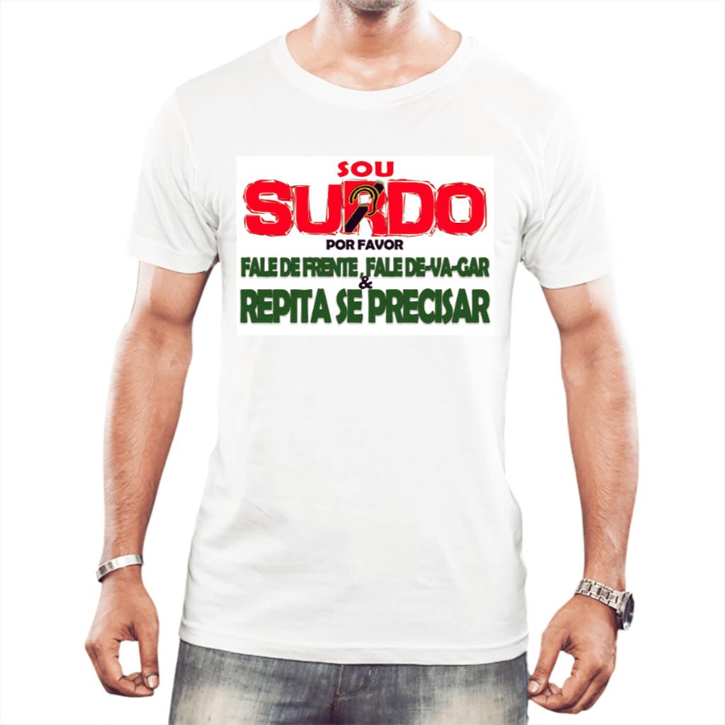 Surdo Informativo (Camiseta Branca)